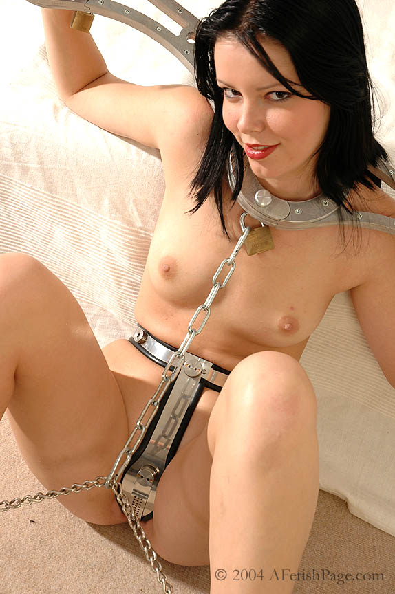 Chastity belt domination
